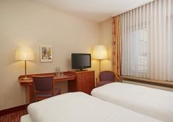 H+ Hotel Mannheim - มันไฮม์ - ห้องนอน