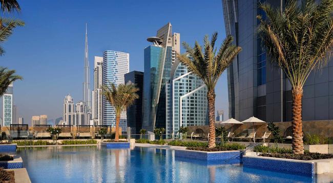 JW Marriott Marquis Hotel Dubai - Dubai - Building