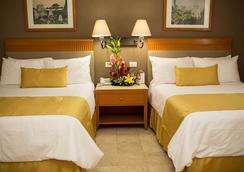 Hotel Olmeca Plaza - วิลลาเฮอร์โมซ่า - ห้องนอน