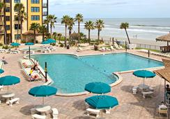 Hawaiian Inn Daytona Beach By Sky Hotels And Resort - เดโทนา บีช - สระว่ายน้ำ