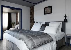 Hotel Mademoiselle - ปารีส - ห้องนอน