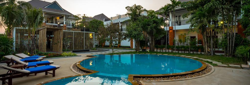 Les Bambous Luxury Hotel - Siem Reap - Building