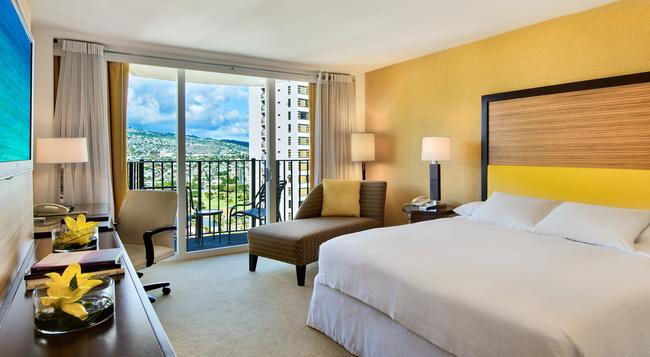 Hilton Waikiki Beach - Honolulu - Bedroom