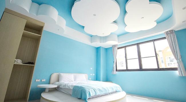 Yellow Kite Hostel - Tainan - Bedroom