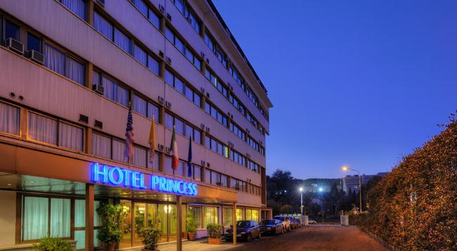 Hotel Princess - Rome - Building
