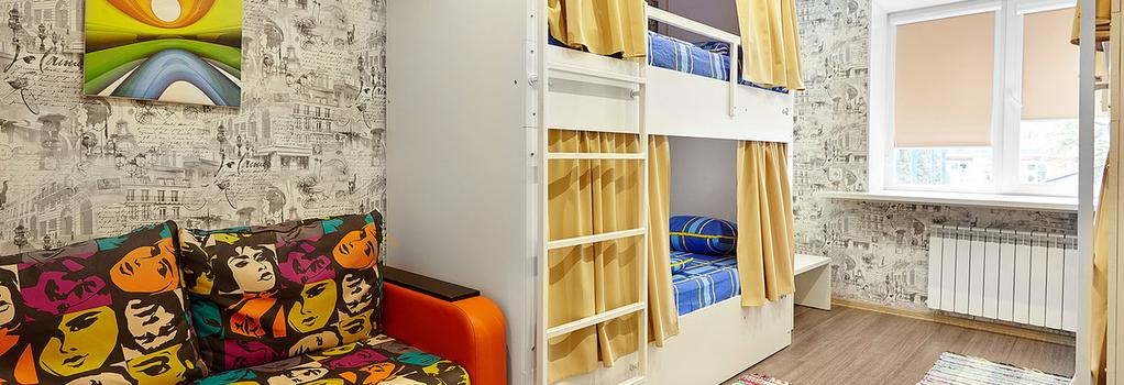 Khostel Kvartira 31 ZhD - Belgorod - Bedroom