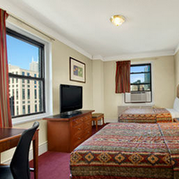 Travelodge Hotel Downtown Chicago Guestroom