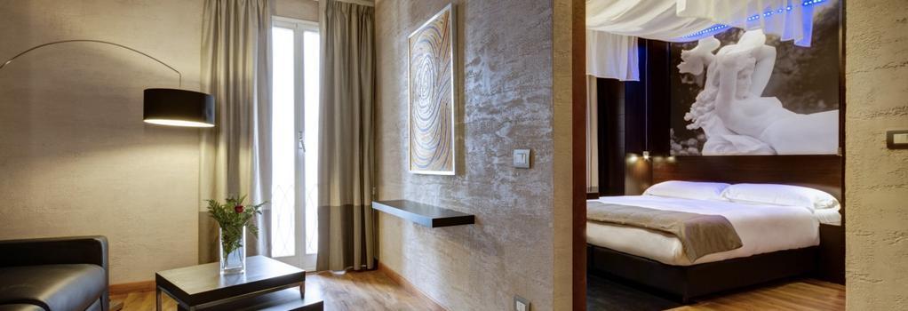 Dharma Hotel & Luxury Suites - Rome - Bedroom