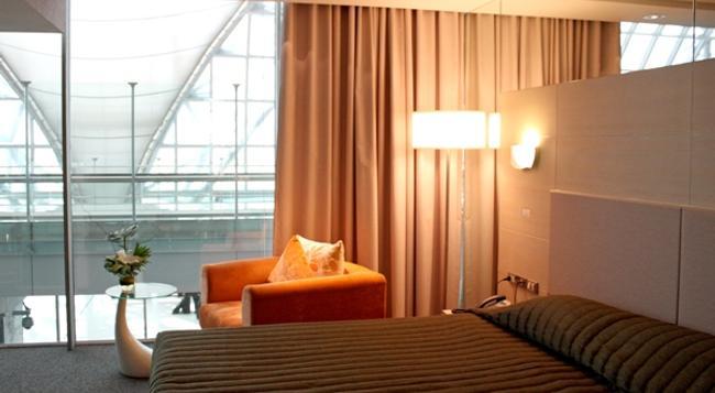 Louis' Tavern Transit Hotel Dayrooms Suvarnabhumi Airport - Bangkok - Bedroom