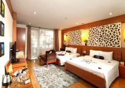 Golden Palace Hotel - ฮานอย - ห้องนอน