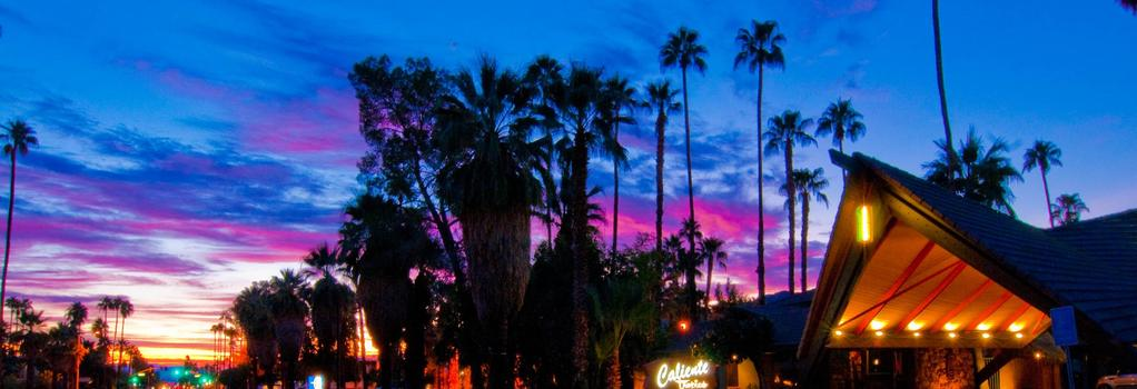 Caliente Tropics Hotel - Palm Springs - Building