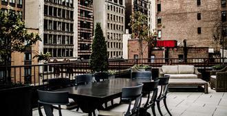 โรงแรมเดอะ โนแมด - นิวยอร์ก - ระเบียง