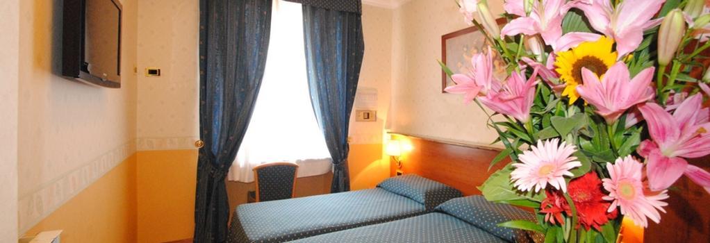 Hotel Verona-Rome - Rome - Bedroom