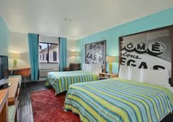 Super 8 Las Vegas Strip Area at Ellis Island Casin - ลาสเวกัส - ห้องนอน