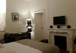 Hôtel Château Lacan - บรีฟ-ลา-กายญาร์ด - ห้องนอน