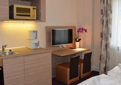Appartementhotel Hamburg - ฮัมบูร์ก - ห้องนั่งเล่น