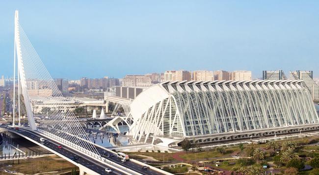 Hotel Ilunion Aqua 4 - Valencia - Building