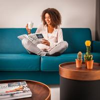 Yays Zoutkeetsgracht Concierged Boutique Apartments Living Room
