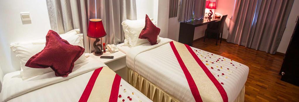 WH Hotel & Service Apartment - Thanlyin - Yangon - Bedroom