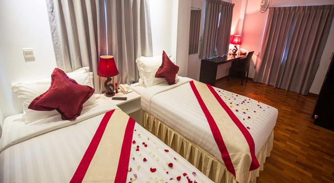 WH Hotel & Service Apartment - Thanlyin - Yangon - Bedroom