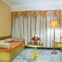 Ramyas Hotels Suite living room