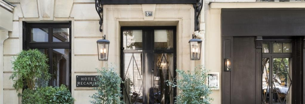 Hotel Recamier - Paris - Building