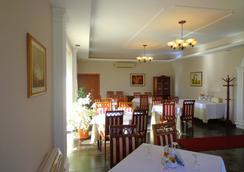 Hotel Viktoria - ติรานา - ร้านอาหาร