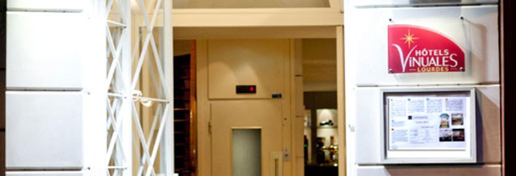 Hotel Continental - Lourdes - Building