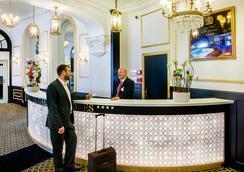 Grand Hotel Gallia & londres - ลูร์ด - ล็อบบี้