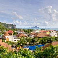 Aonang Cliff Beach Resort Aerial View