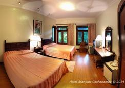 Hotel Aranjuez Cochabamba - โกชาบัมบา - ห้องนอน
