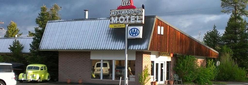 Al's Westward Ho Motel - West Yellowstone - Building