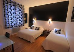 Hotel Italia - ทัวร์ - ห้องนอน