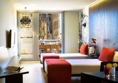 Ayre Hotel Rosellon - บาร์เซโลน่า - ห้องนอน