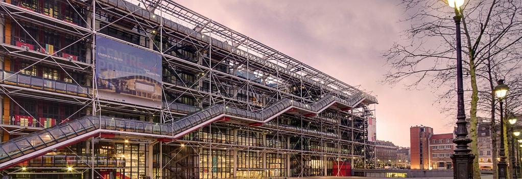 Hotel Beaumarchais - Paris - Building