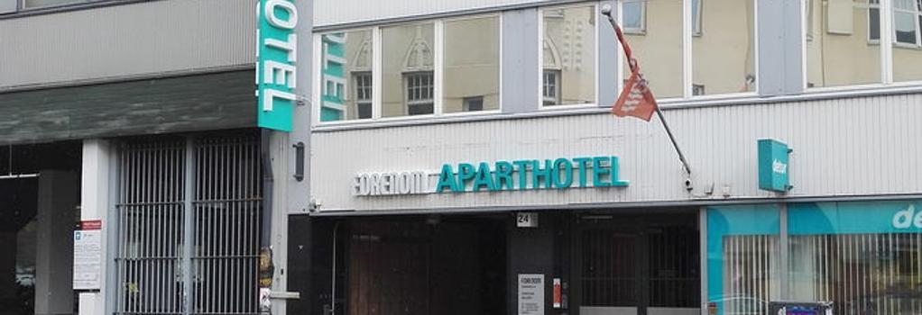 Forenom Aparthotel Helsinki City - Helsinki - Building