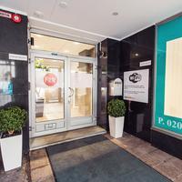 Forenom Pop-up Hotel Interior Entrance