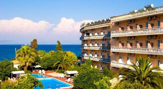 Potamaki Beach Hotel - Corfu - Building