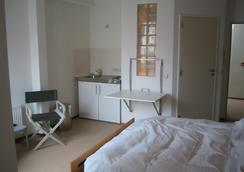 Wake-Up Sandwich Hotel - แอนต์เวิร์ป - ห้องนอน