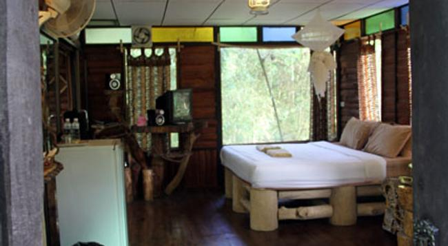Khao Sok Tree House - Khlong Sok - Bedroom