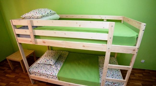 Kiwi Hostel - Krasnoyarsk - Bedroom