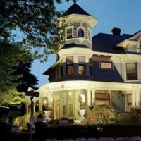 Lion and the Rose Victorian Bed & Breakfast Hotel Front - Evening/Night