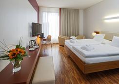 Hotel Stücki - บาเซิล - ห้องนอน