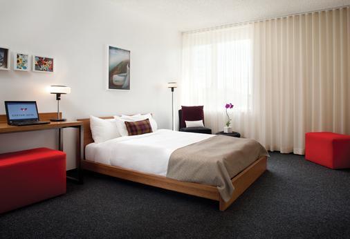 โรงแรมคัสตอม สนามบินลอสแอนเจลีส - ลอสแอนเจลิส - ห้องนอน