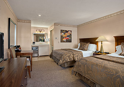 Days Inn San Diego Hotel Circle Near Seaworld - ซานดีเอโก - ห้องนอน