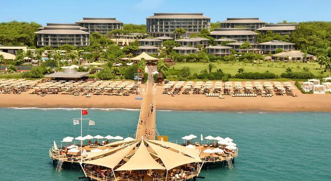 Calista Luxury Resort - Belek - Building