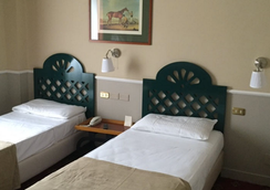 Colony Hotel - โรม - ห้องนอน