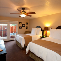 Sycamore Mineral Springs Resort Guest room