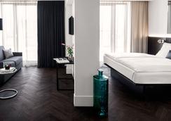 Hotel Amano Grand Central - เบอร์ลิน - ห้องนอน