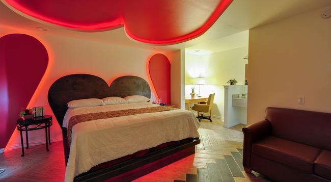 Romantic Inn & Suites - Dallas - Bedroom